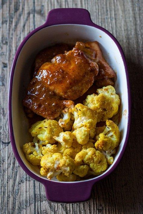 Maple- Mustard Chicken