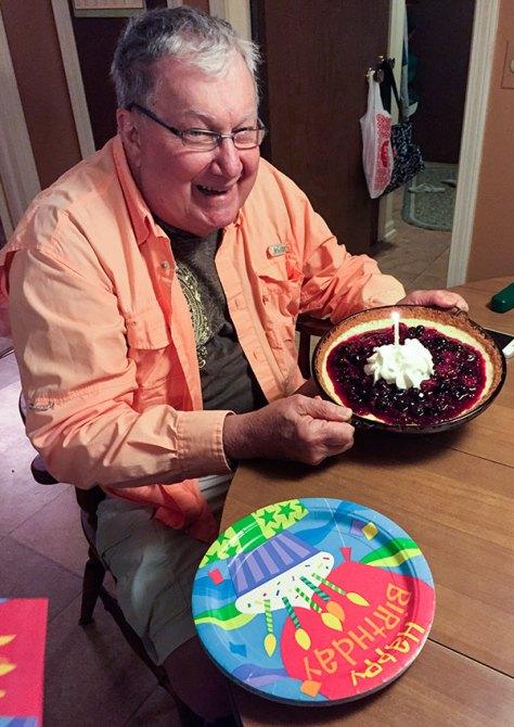 Dads Birthday Pie