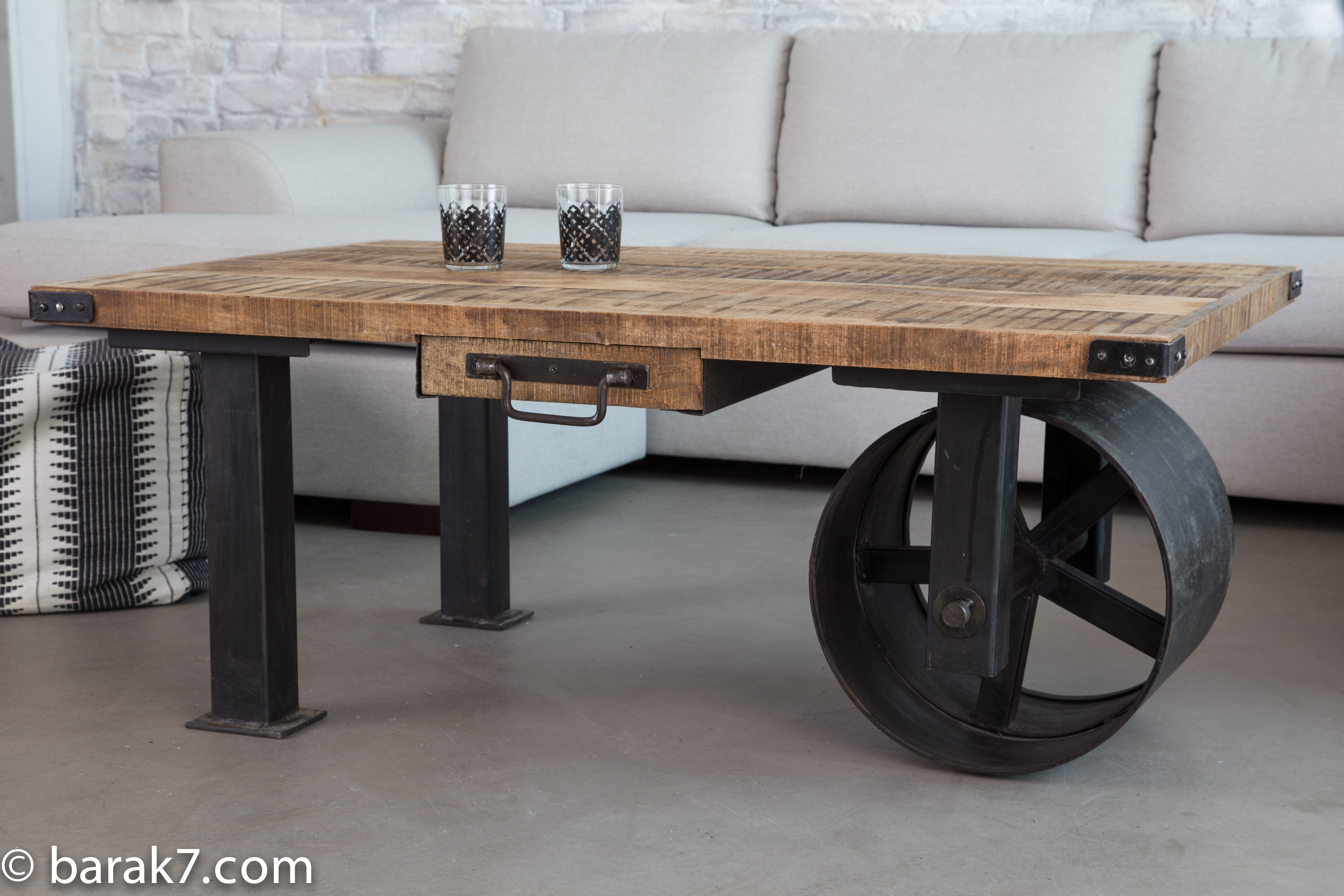 New Industrial Style Furniture Range From Barak7 The