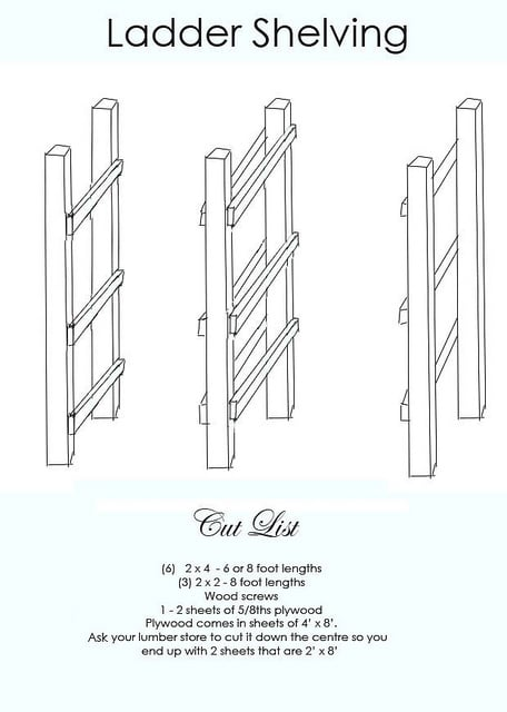Ladder Shelving Final