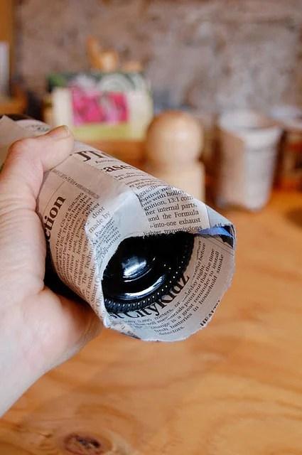 Paper Pots Step 4