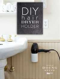A DIY hairdryer stand or holder in 4 easy steps for $10 ...