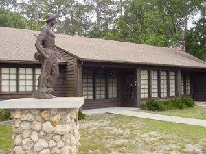 The CCC Museum in the Highlands Hammock State Park