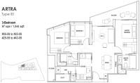 Artra Condo Floor Plan   The Artra Floor Plans by ...