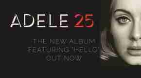 Adele announces 2016 UK & European Tour