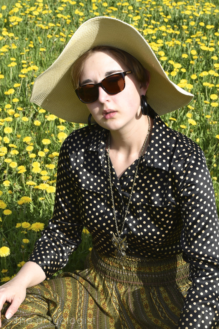 1970's Flower Child the artyologist