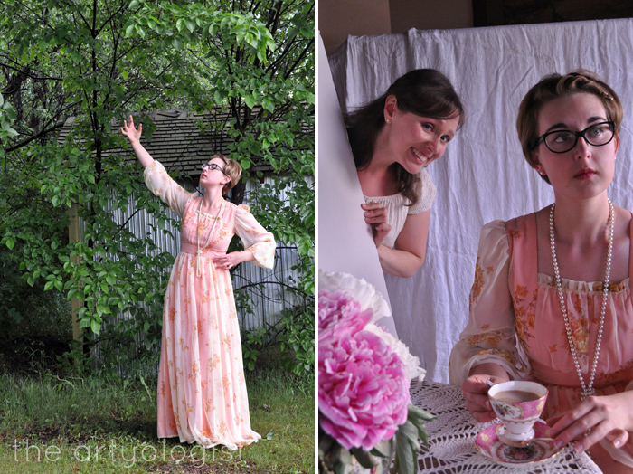 tea party outtakes, the artyologist