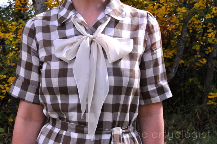 The Dress That Didn't Get Away- the artyologist, 1920's gingham