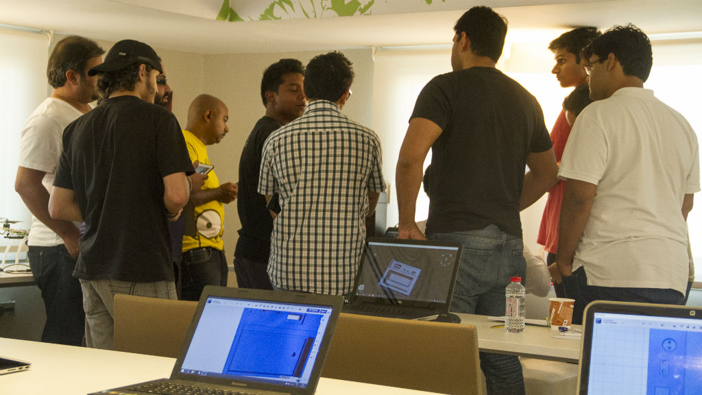 Workshop – Make a 3D Printed Circuit Board – May 14, 2016