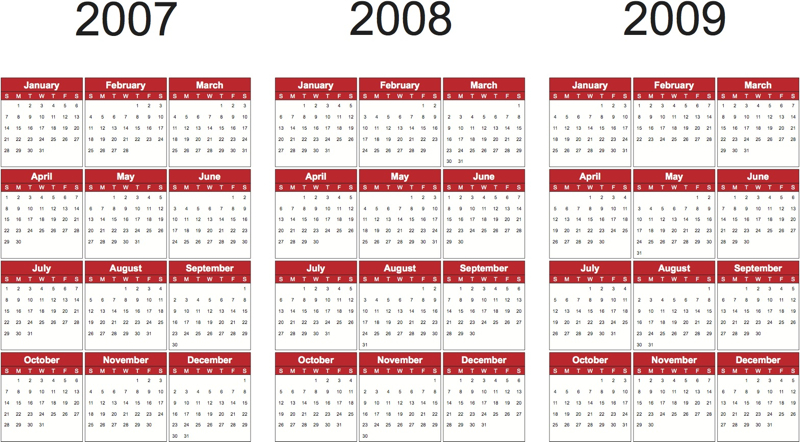 2009 Yearly Calendar Excel How To Create A Calendar In Excel 2003 And Office 365 2007 Calendar Search Results Calendar 2015