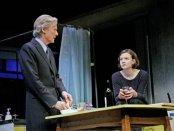 "Bill Nighy and Carey Mulligan in a scene from David Hare's ""Skylight"" (Photo credit: John Haynes)"