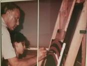 Sinatra paints