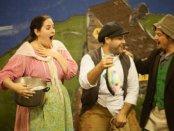"Laura Kay, David Burkard and Conor McDonald in a scene from ""The Magic Fish"" (Photo credit: Sean Moonsammy)"