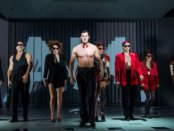 """Benjamin Walker and the cast of """"American Psycho The Musical"""" (Photo credit: Jeremy Daniel)"""