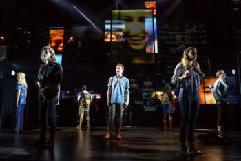 "The Company of ""Dear Evan Hansen"" (Photo credit: Matthew Murphy)"