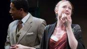"Terrell Wheeler and Emily Bennett in a scene from Eugene O'Neill's ""Now I Ask You"" (Photo credit: Svetlana Didorenko)"