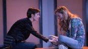 "Jocelyn Kurtisky and Lexi Lapp in a scene from ""STET"" (Photo credit: Ben Strothmann)"