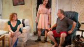 """Bethany Geraghty, Vanessa Vache and Sidney Williams in a scene from """"Strange Country"""" (Photo credit: Hunter Canning)"""