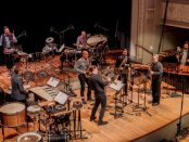 PRISM Quartet and Sō Percussion (Photo credit: Scott Friedlander)