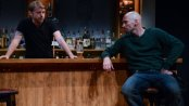 """Robert Zawadzki and Patrick O'Kane in the Abbey Theatre's production of """"Quietly"""" at the Irish Rep (Photo credit: James Higgins)"""