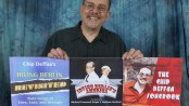 Chip Deffaa with three albums