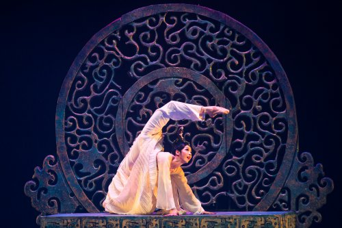"A scene from The China National Opera & Dance Drama Theater's production ""Confucius (Photo credit: Liu Haidong)"