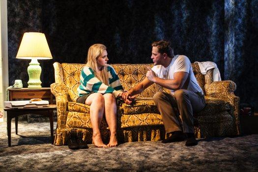 "Abigail Breslin and Joe Tippett in ""All the Fine Boys"" (Photo credit: Monique Carboni)"