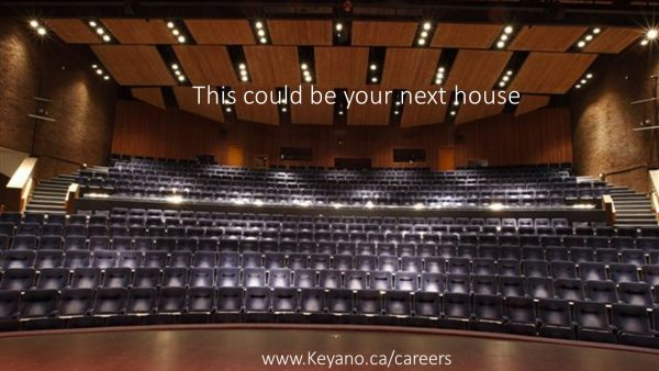 Job (Fort McMurray) Keyano Theatre is hiring a full-time Technical