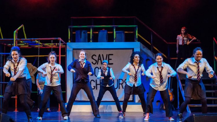 "<div class=""category-label-review"">Review: </div>Glasgow Girls at Theatre Royal Stratford East"