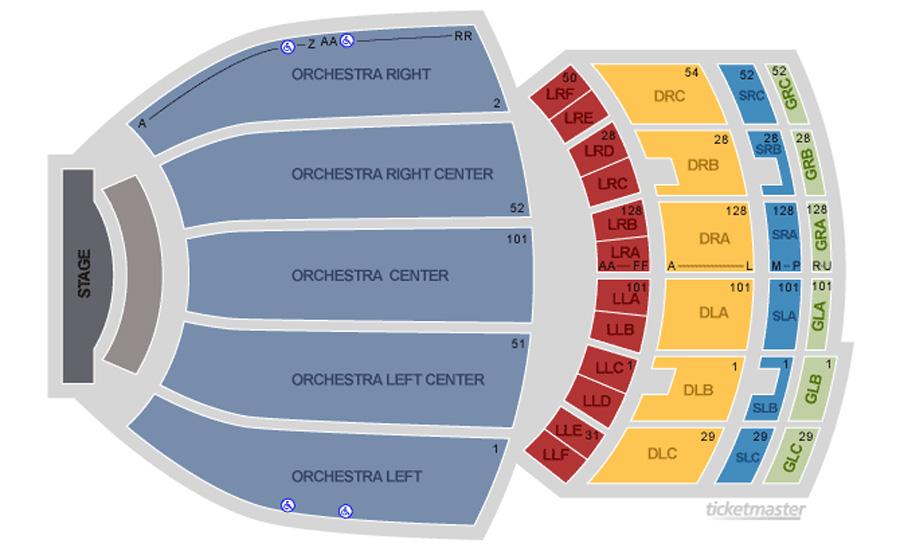 Fox Theatre Seating Chart - Theatre Atlanta