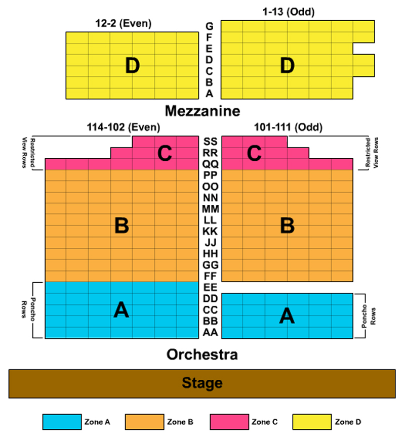 Astor Place Theatre Seating Chart- Theatre In New York