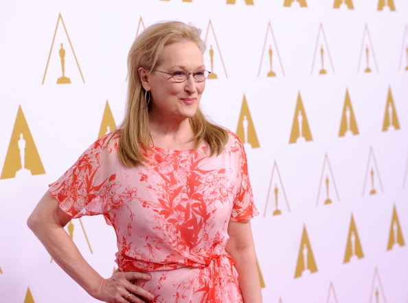 BEVERLY HILLS, CA - FEBRUARY 10: Actress Meryl Streep attends the 86th Academy Awards nominee luncheon at The Beverly Hilton Hotel on February 10, 2014 in Beverly Hills, California. (Photo by Kevin Winter/Getty Images)