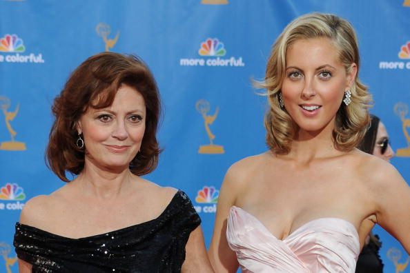 LOS ANGELES, CA - AUGUST 29: Actress Susan Sarandon and actress Eva Amurri arrive at the 62nd Annual Primetime Emmy Awards held at the Nokia Theatre L.A. Live on August 29, 2010 in Los Angeles, California. (Photo by Frazer Harrison/Getty Images)