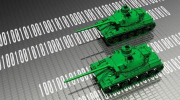 Virtual tanks protecting computer data