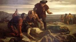 La mort de Charles le Téméraire devant Nancy, Charles Houry, 1852