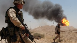 Soldats US au sud de l'Iraq (avril 2003)