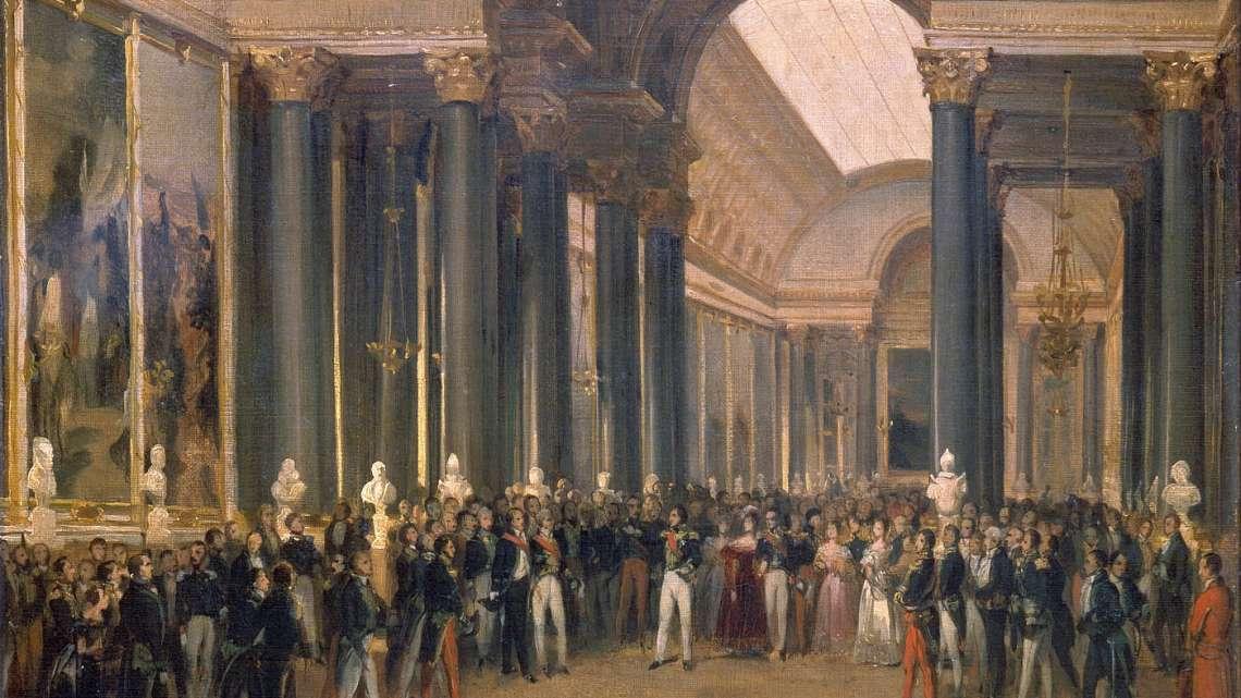 Louis-Philippe inaugure la galerie des Batailles