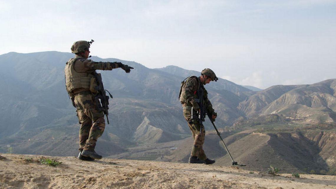 Soldats du 3e RG en Afghanistan. Crédit : EMA
