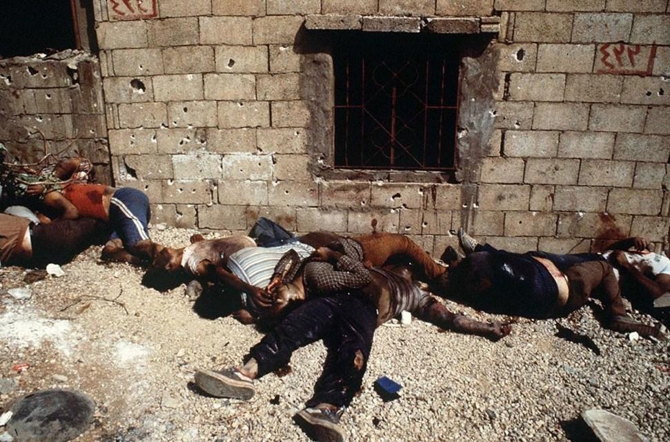 Massacre de Sabra et Chatilla.