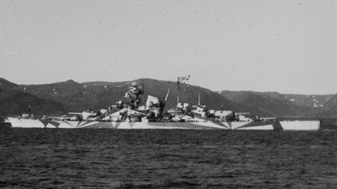 KMS Tirpitz en Norvège en 1943