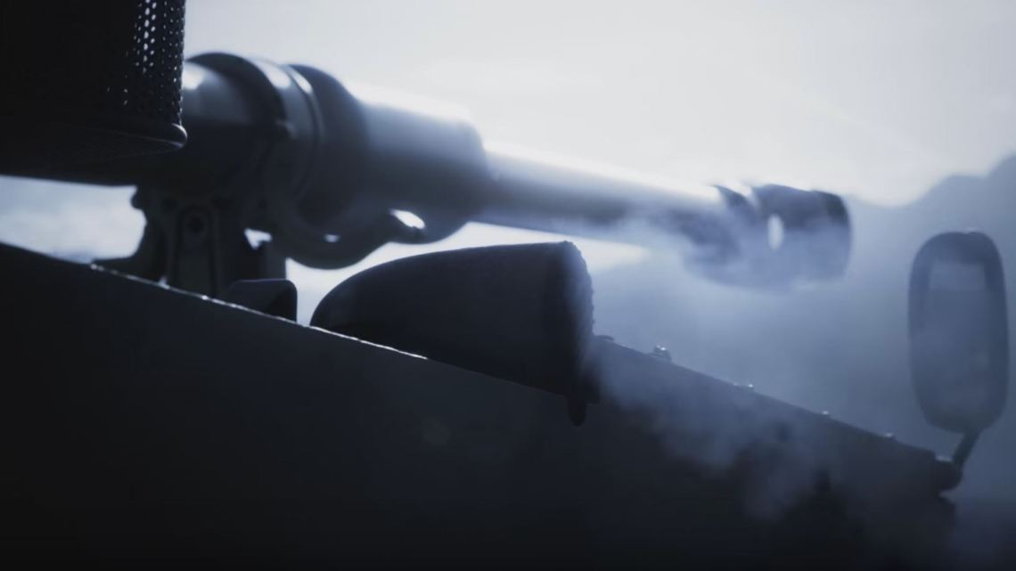 Crédit : Photo d'écran d'un M109 tirée d'un clip vidéo de RUAG.