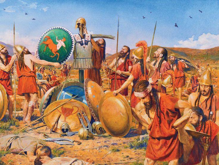 Après la bataille de Mantinée