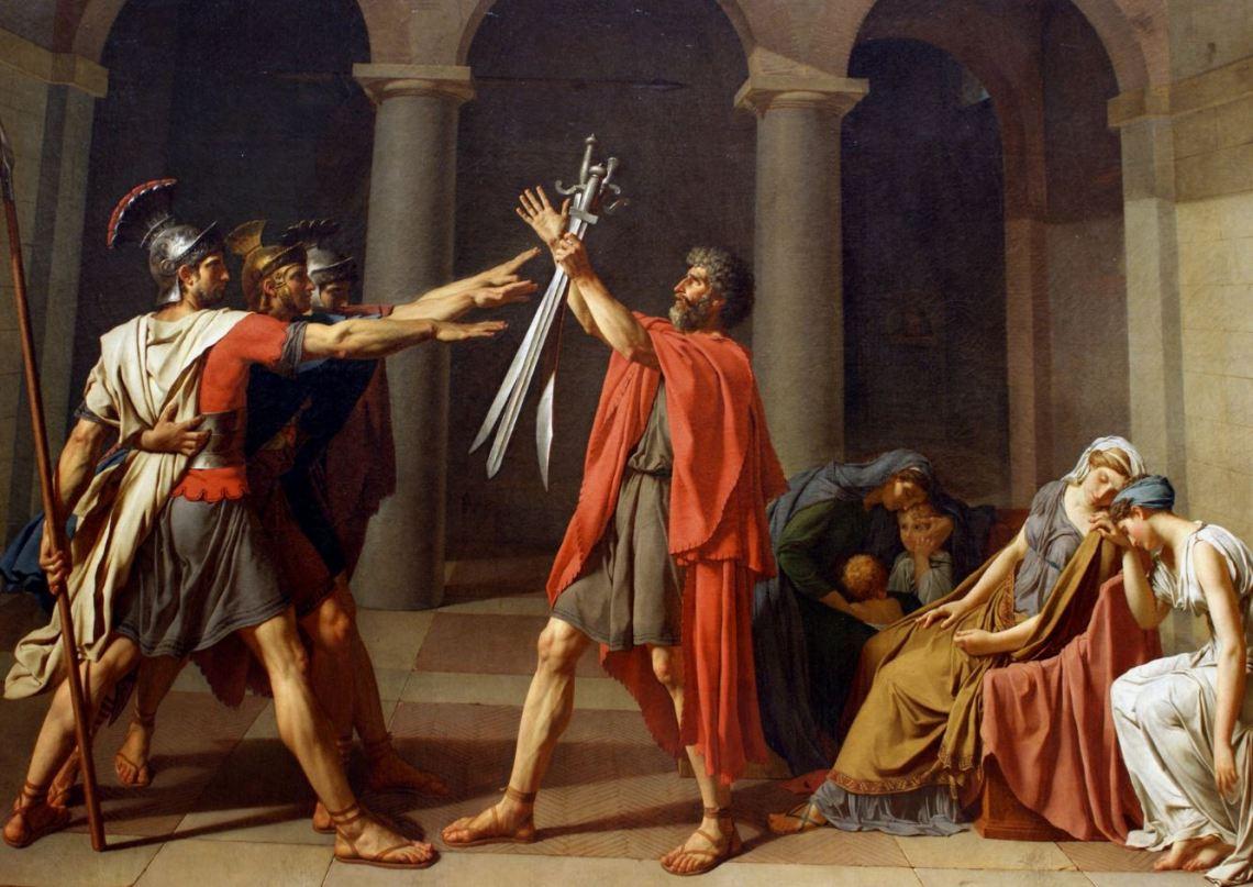 Sermant des Horaces par David.