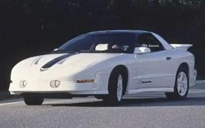Blue Racing Car Wallpaper Pontiac Transam 1994