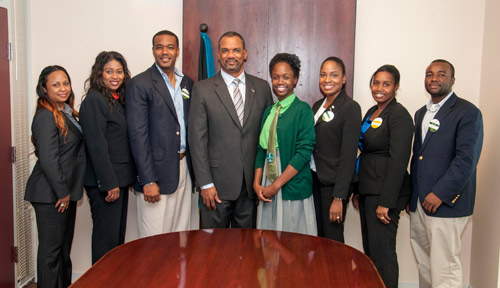 thebahamasweekly - Minister Fitzgerald Applauds Junior - junior achievement bahamas