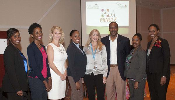 thebahamasweekly - Baha Mar Sponsors JA Mingle - junior achievement bahamas