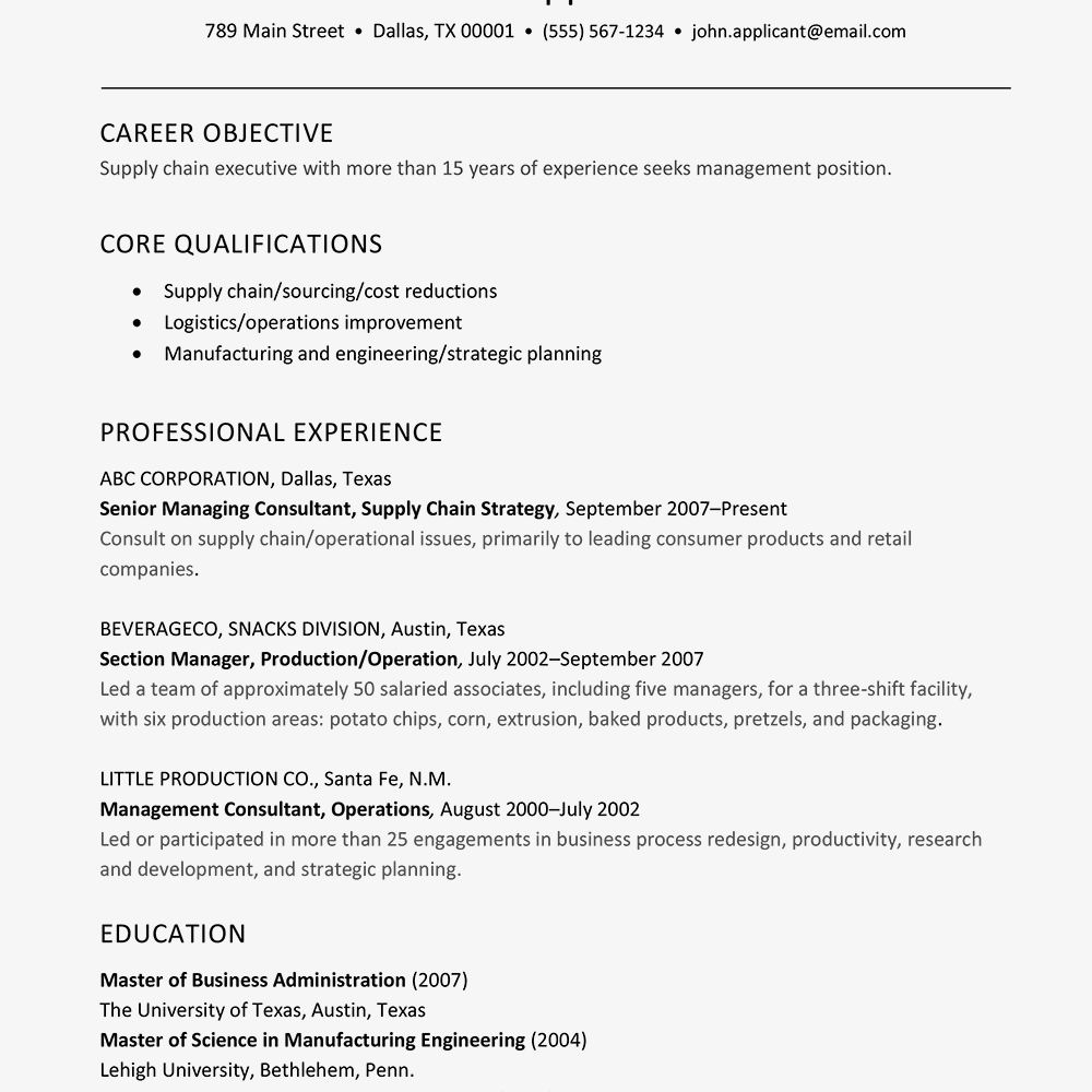 resume headline for purchase executive