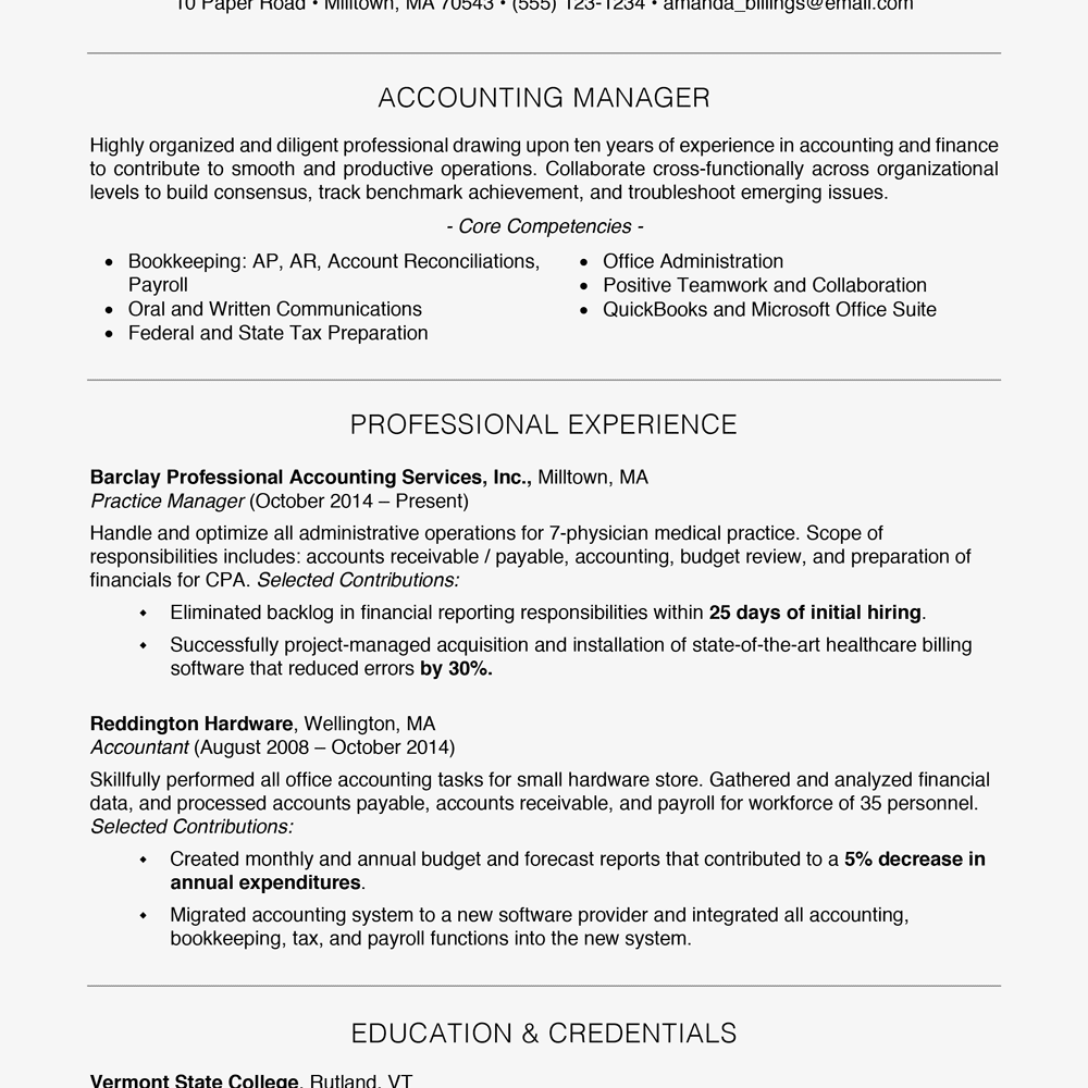 how to write a better resumes