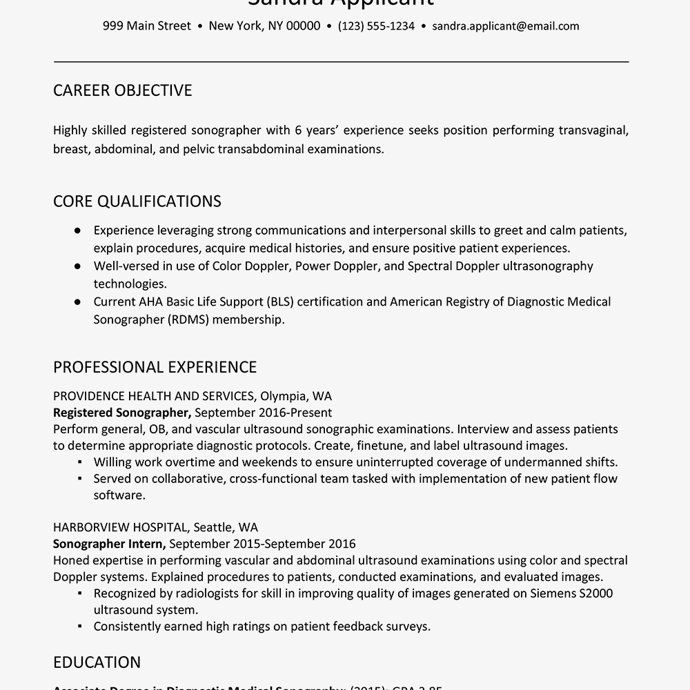 performing resume template google docs