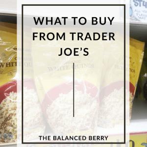 Healthy Trader Joe's Grocery Staples